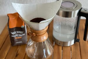 Four Sigmatic Lion's Mane with a Chemex